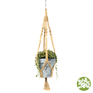 String of Pearls Galvanized Hanger